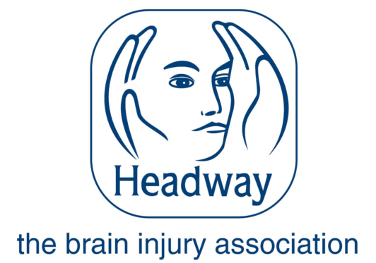 The logo for Headway UK.